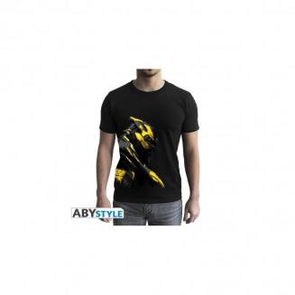 """MARVEL - Tshirt """"Thanos Or"""" homme MC black"""