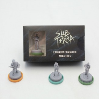 SUB TERRA - Minis Personnages Extensions