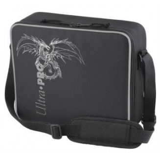 Ultra Pro - Deluxe Gaming Case Black Dragon with Silver Trim