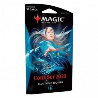 Magic the Gathering - Core Set 2020 - Theme Booster Blue (Anglais)