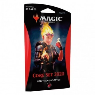 Magic the Gathering - Core Set 2020 - Theme Booster Red (Anglais)