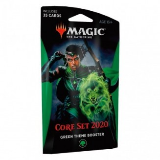 Magic the Gathering - Core Set 2020 - Theme Booster Green (Anglais)