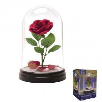 DISNEY - Lampe La Belle et la Bête: Rose Enchantée
