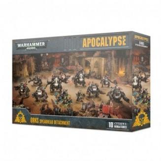 Warhammer 40,000 : Apocalypse - Orks Spearhead Detachment