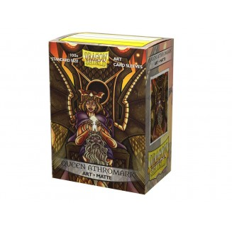 Dragon Shield Sleeves : Queen Athromark Matte