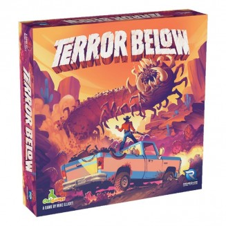 TERROR BELOW – Le Jeu de Plateau