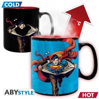 DC COMICS - Mug Heat Change - 460 ml - Superman