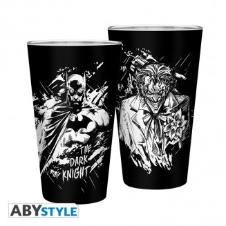 DC COMICS - Verre XXL - 400 ml - Batman & Joker
