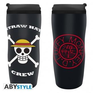 "ONE PIECE - Mug de voyage ""Luffy"""