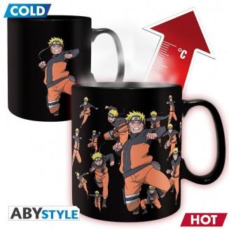 NARUTO SHIPPUDEN - Mug Heat Change - 460 ml -Multiclonage
