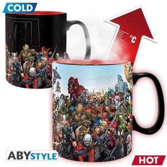 MARVEL - Mug Heat Change - 460 ml