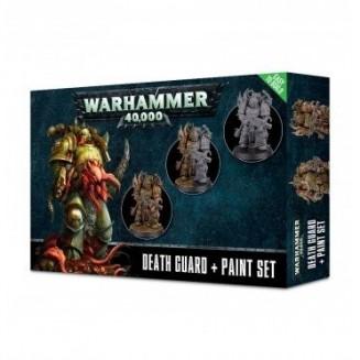 W40K : Peintures - Death Guard Paint Set