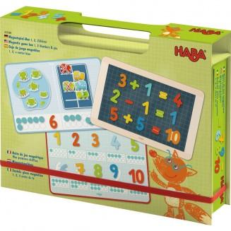 Boîte de jeu magnétique Mes premiers chiffres