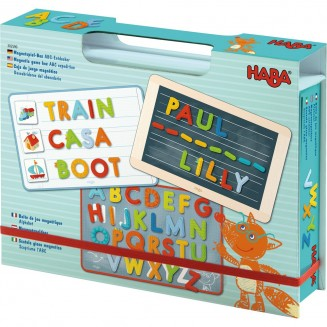 Boîte de jeu magnétique Alphabet