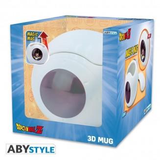 DRAGON BALL - Mug 3D - Heat Change - Vaisseau Vegeta