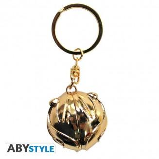 "HARRY POTTER - Porte-clés 3D ""Vif d'or"""