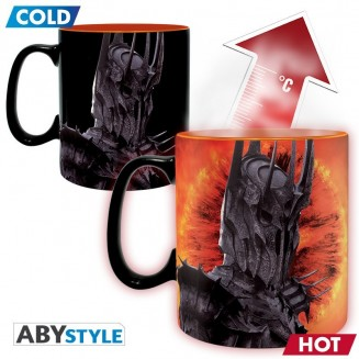 LORD OF THE RINGS - Mug Heat Change - 460 ml - Sauron