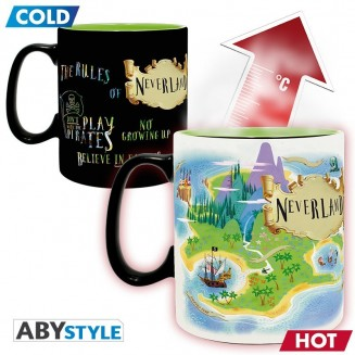 DISNEY - Mug Heat Change - 460 ml - Peter Pan Neverland