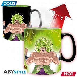 DRAGON BALL SUPER BROLY - Mug Heat Change - 460 ml Gogeta & Broly