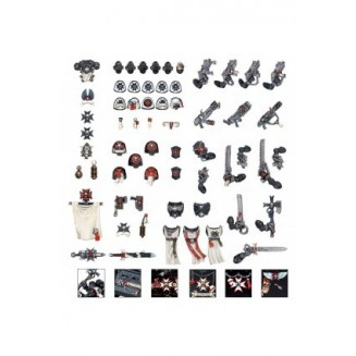 Pack de conversion Black Templar