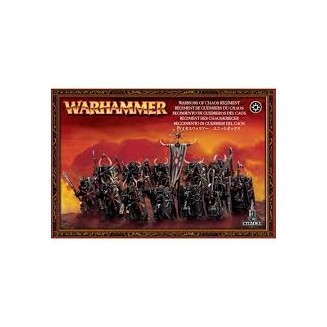 Warhammer Age of Sigmar - Chaos Warriors Regiment