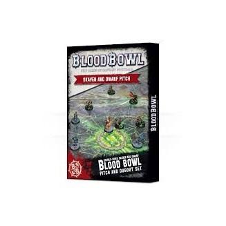BloodBowl: Skaven and Dwarf Pitch