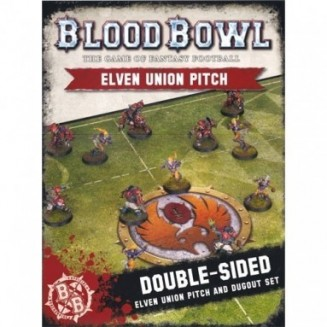 BloodBowl: Elven Union Pitch