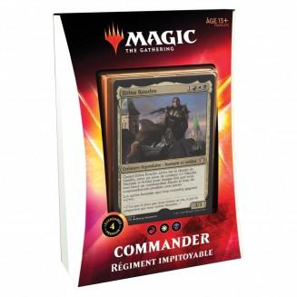Magic The Gathering : lot de 5 Decks Commander 2020 Ikoria La Terre des Béhémoths