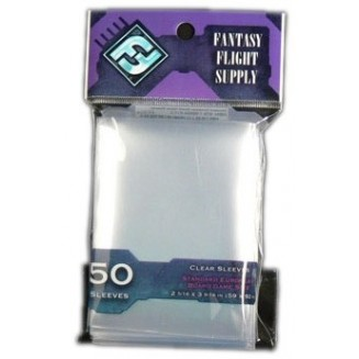 FFG - Clear Sleeves Std. Eu. 50