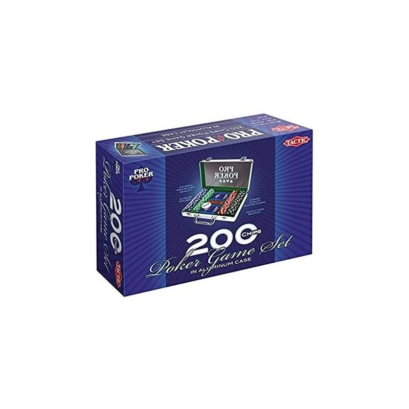POKER - MALLETTE 200 JETONS 11,5G