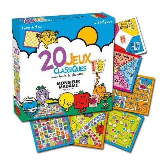 Monsieur Madame - 20 Jeux Classiques