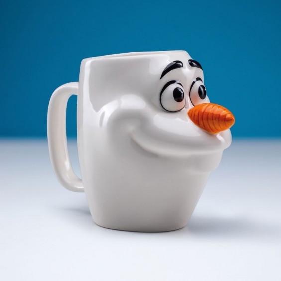 DISNEY - Mug en forme La Reine des Neiges Olaf