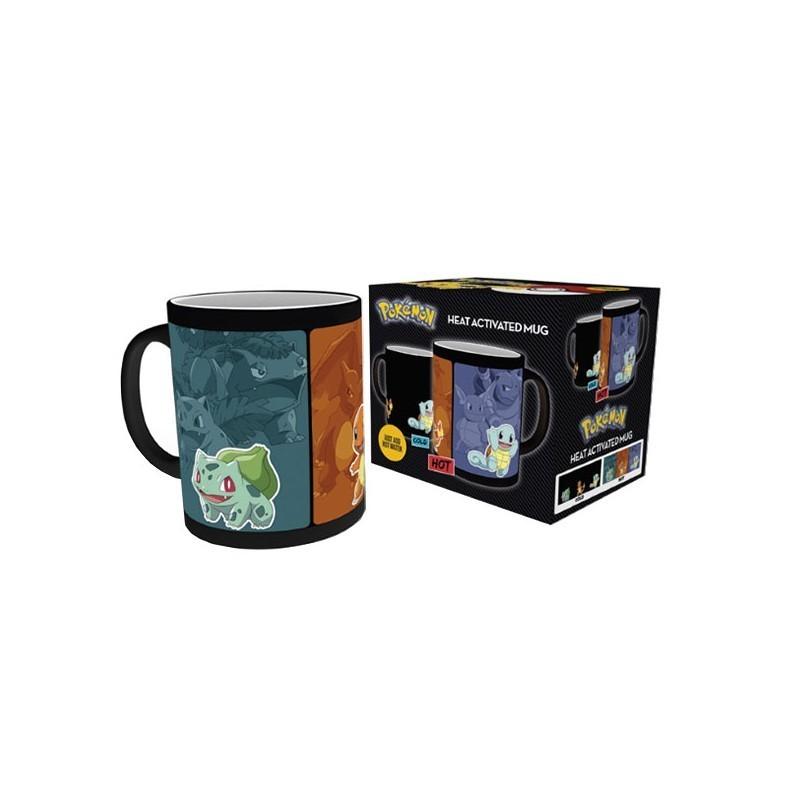 POKEMON - Mug Thermoréactif Evolution