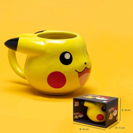 POKEMON - Mug 3D 475 ml Pikachu