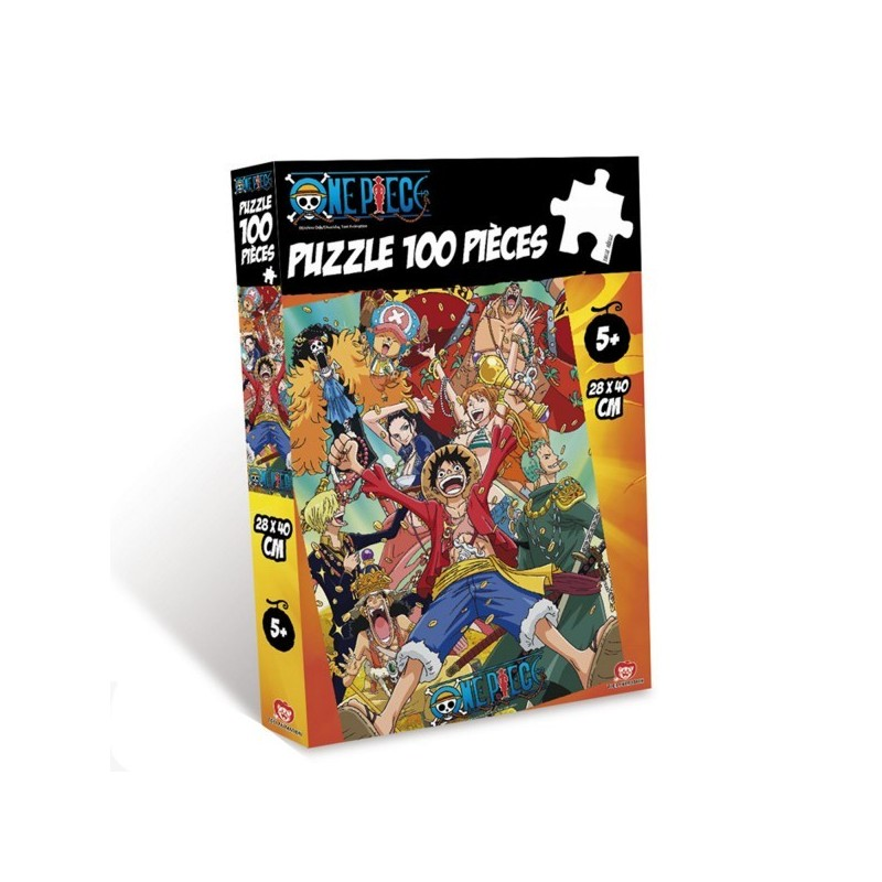 ONE PIECE Puzzle 100 pièces Wanted Luffy