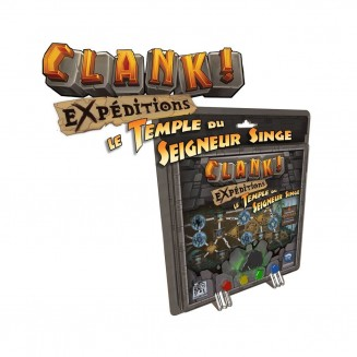 CLANK ! EXPEDITIONS 2 Le Temple du Seigneur Singe–Extension Clank !