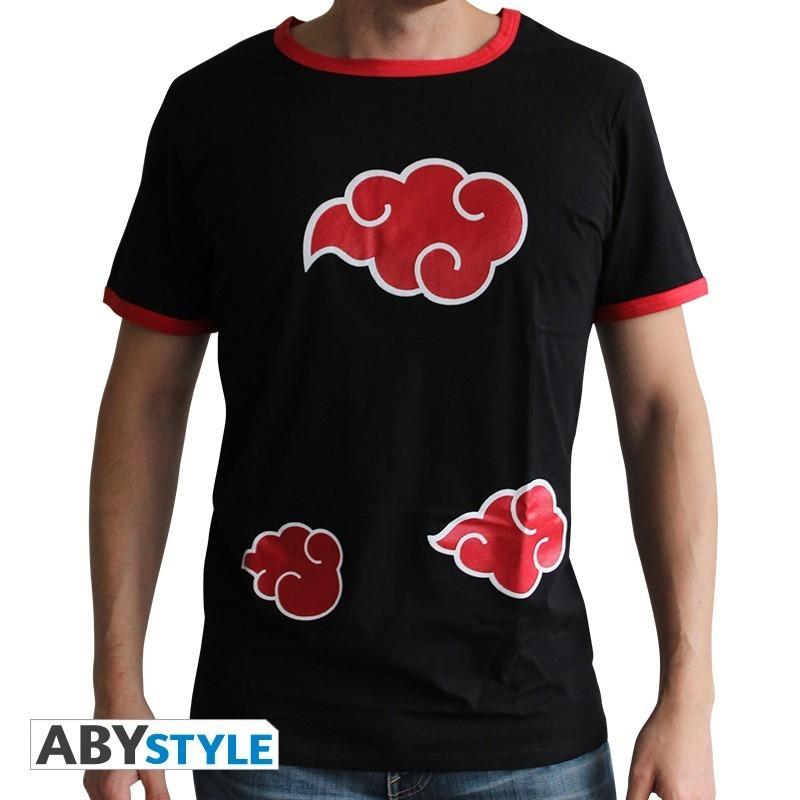 "NARUTO SHIPPUDEN - Tshirt ""Akatsuki"" homme MC black - premium"