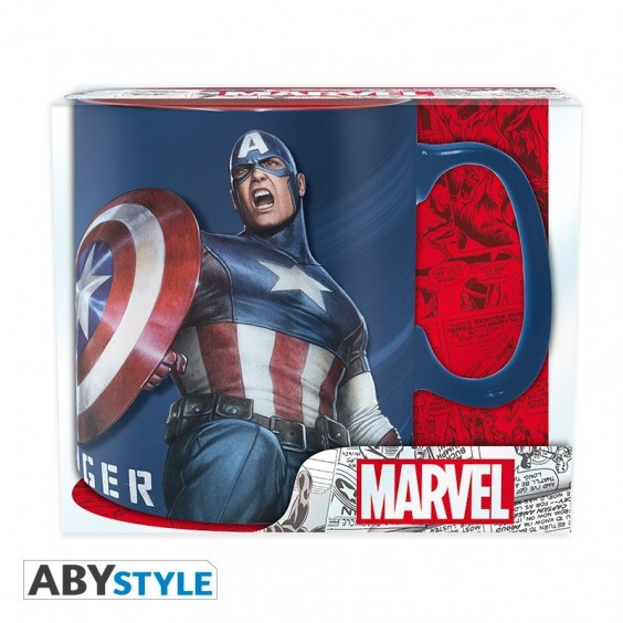 "MARVEL - Mug - 460 ml - ""Sentinel of Liberty"""
