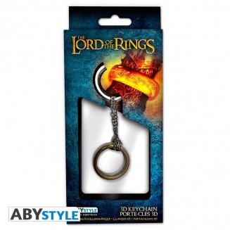 "LORD OF THE RINGS - Porte-clés 3D ""Anneau"""