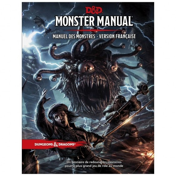 Dungeons & Dragons 5e Éd. : Monster Manual - Manuel des Monstres - Version française