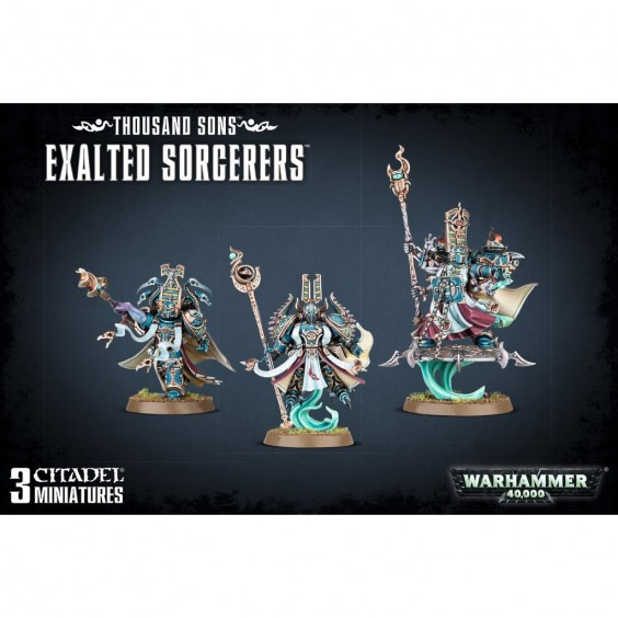 W40K : Thousand Sons - Exalted Sorcerers