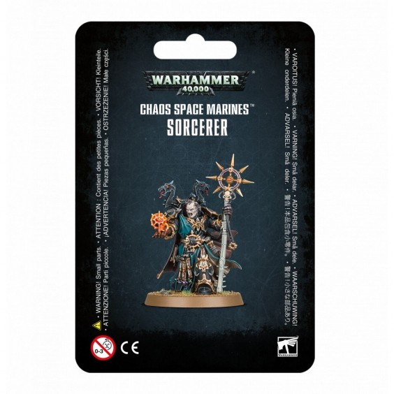 W40K : Chaos Space Marines - Sorcerer