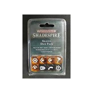 Warhammer Underworlds : Shadespire - Skaven Dice Set