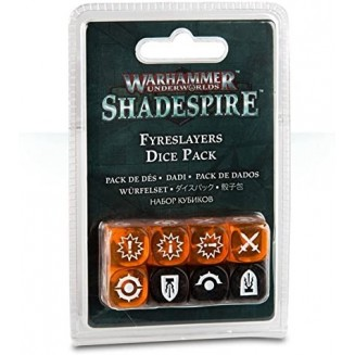 Warhammer Underworlds : Shadespire - Fyreslayer Dice Set