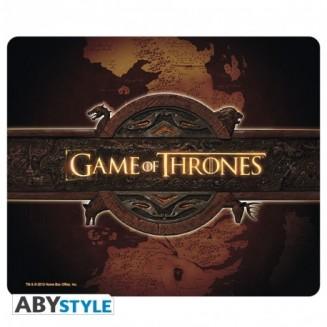 GAME OF THRONES - Tapis de souris - logo et carte