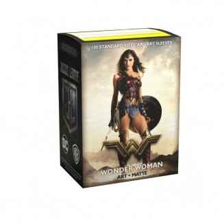 Dragon Shield - 100 Matte Art Sleeves - Justice League Wonder Woman