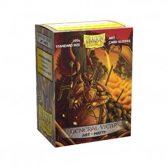 Dragon Shield - 100 Matte Art Sleeves - General Vicar : Portrait
