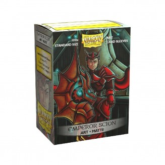 Dragon Shield - 100 Matte Art Sleeves - Emperor Scion : Portrait