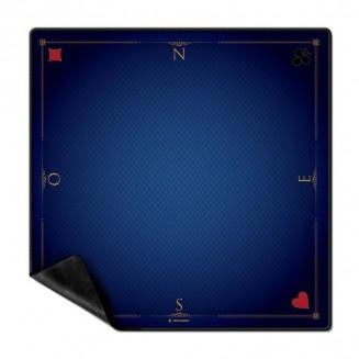 Tapis Cartes Prestige 60x60 : Bleu