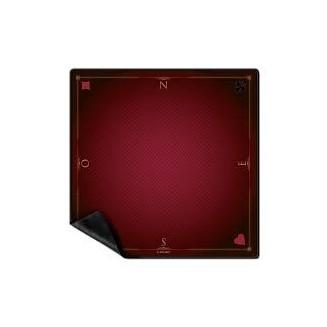 Tapis Cartes Prestige 60x60 : Rouge